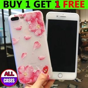 Accessories - *NEW iPhone Max/XR/XS/X/7/8/Plus Floral Case